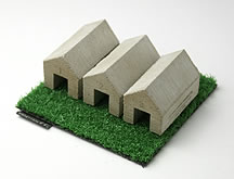 COW HOUSE PAPERWEIGHT